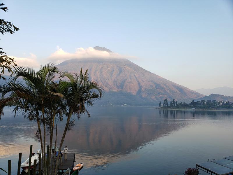 View from Posado Santiago - Guatemala