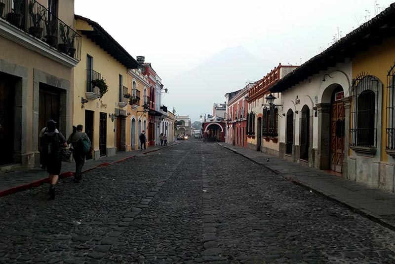 Antigua Streets - Guatemala